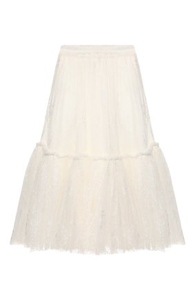 Детская юбка CHARABIA белого цвета, арт. S13004 | Фото 2