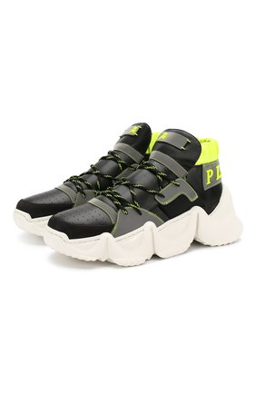 Мужские кроссовки PHILIPP PLEIN черного цвета, арт. S20S MSC2581 PTE003N | Фото 1