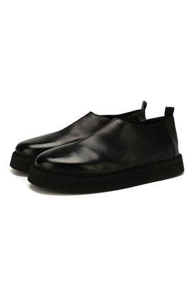 Мужские кожаные ботинки MARSELL черного цвета, арт. MM3196/PELLE V0L0NATA | Фото 1