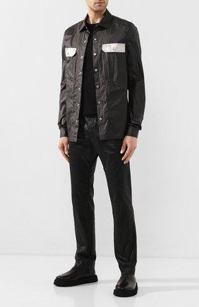 Мужские кожаные ботинки MARSELL черного цвета, арт. MM3196/PELLE V0L0NATA | Фото 2