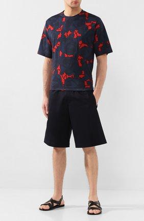 Мужские кожаные сандалии MORESCHI черного цвета, арт. 93FREEP0RT | Фото 2