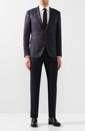 Мужские кожаные оксфорды SANTONI черного цвета, арт. MC0S10348MC2H0ENN01 | Фото 2