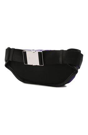 Мужская текстильная поясная сумка KENZO фиолетового цвета, арт. F855SF212F24 | Фото 3