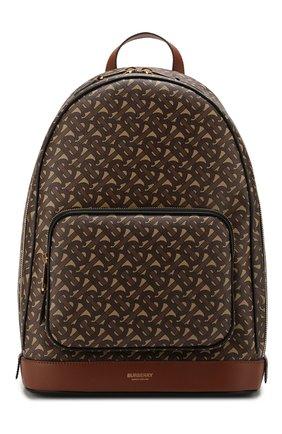 Мужской рюкзак BURBERRY коричневого цвета, арт. 8022543 | Фото 1
