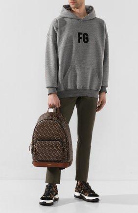 Мужской рюкзак BURBERRY коричневого цвета, арт. 8022543 | Фото 2