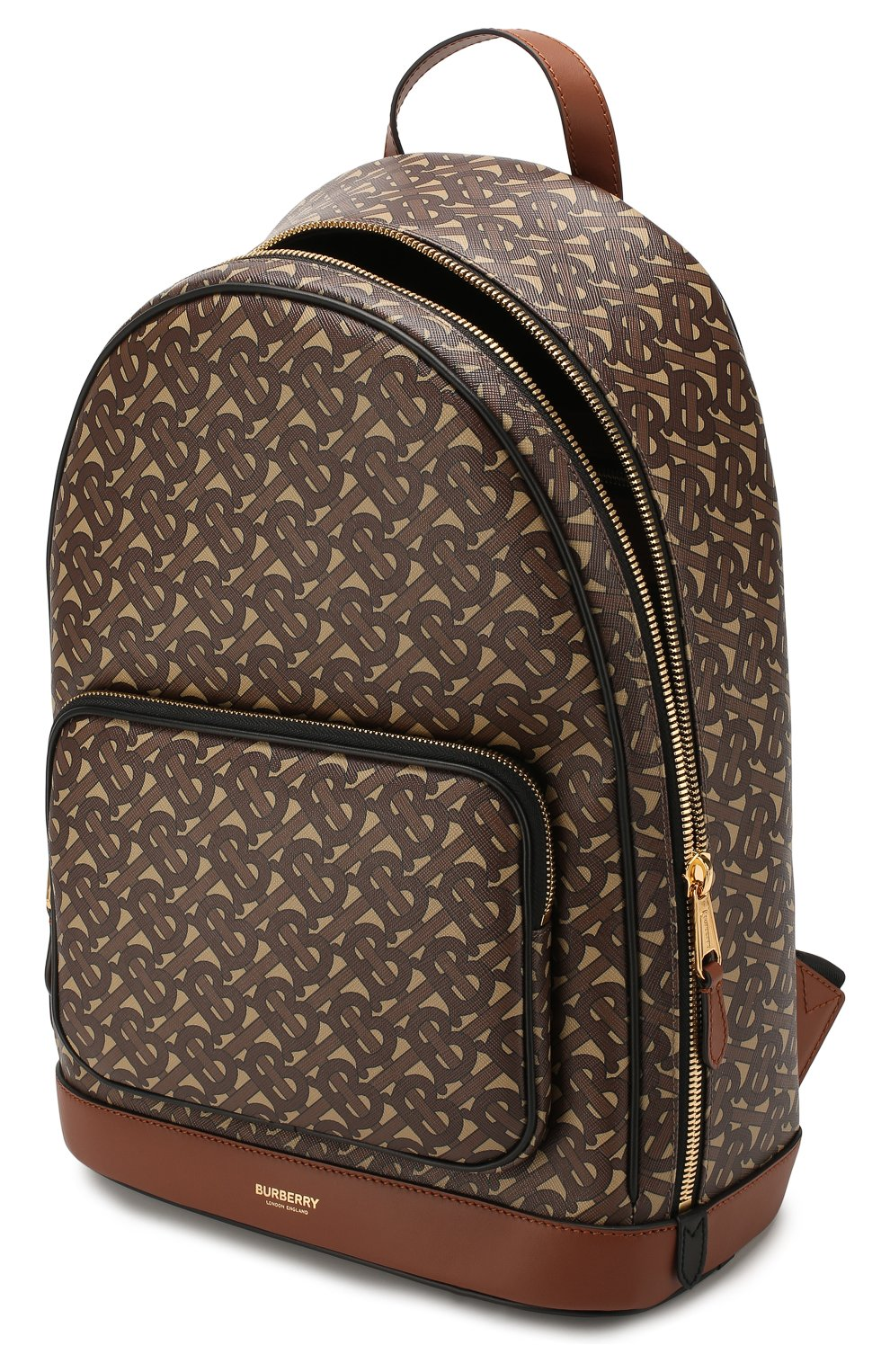 Мужской рюкзак BURBERRY коричневого цвета, арт. 8022543 | Фото 4