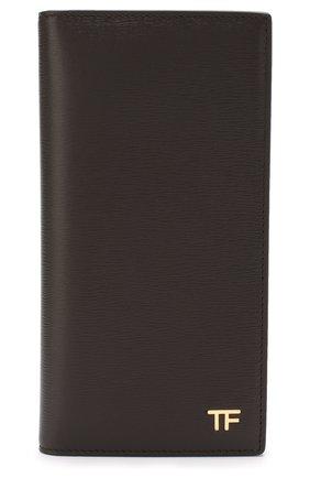 Мужской кожаное портмоне TOM FORD коричневого цвета, арт. Y0251T-LCL053 | Фото 1