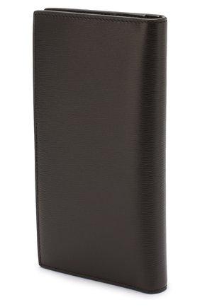 Мужской кожаное портмоне TOM FORD коричневого цвета, арт. Y0251T-LCL053 | Фото 2