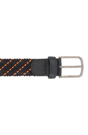 Мужской текстильный ремень PAUL&SHARK оранжевого цвета, арт. E20P6001 | Фото 3