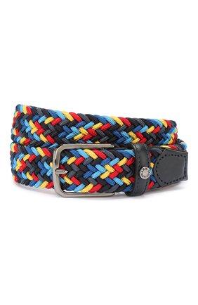 Мужской текстильный ремень PAUL&SHARK разноцветного цвета, арт. E20P6002 | Фото 1