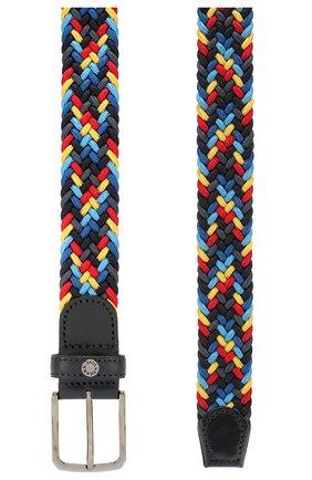 Мужской текстильный ремень PAUL&SHARK разноцветного цвета, арт. E20P6002 | Фото 2