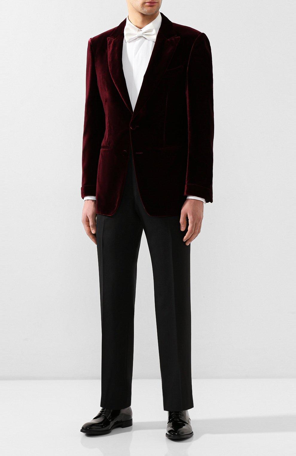 Мужские кожаные дерби GIORGIO ARMANI черного цвета, арт. X2C536/XAT24 | Фото 2