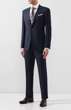 Мужские кожаные оксфорды TOM FORD коричневого цвета, арт. J1249T-LCL024 | Фото 2