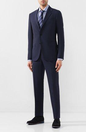Мужская хлопковая сорочка VAN LAACK голубого цвета, арт. RAND0-SF/156403 | Фото 2