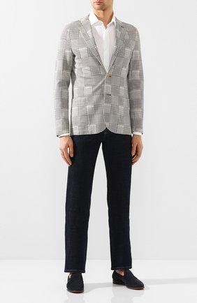 Мужская льняная рубашка ELEVENTY PLATINUM белого цвета, арт. A75CAMA08 TES0A001 | Фото 2