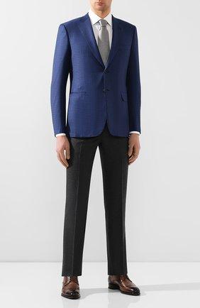 Мужской шерстяной пиджак BRIONI темно-синего цвета, арт. RG0J0M/P9A0N/BRUNIC0 | Фото 2