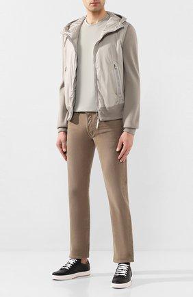 Мужские джинсы TOM FORD бежевого цвета, арт. BUJ35/TFD002 | Фото 2