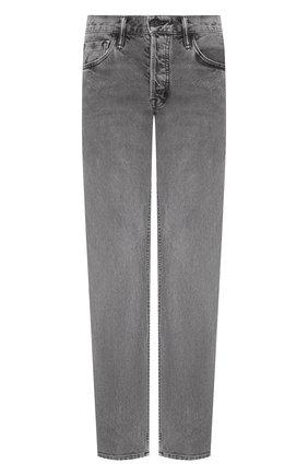 Мужские джинсы TOM FORD светло-серого цвета, арт. BUJ32/TFD002 | Фото 1