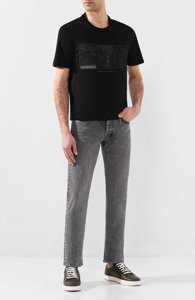 Мужские джинсы TOM FORD светло-серого цвета, арт. BUJ32/TFD002 | Фото 2