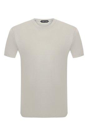 Мужская футболка TOM FORD хаки цвета, арт. BU229/TFJ950   Фото 1