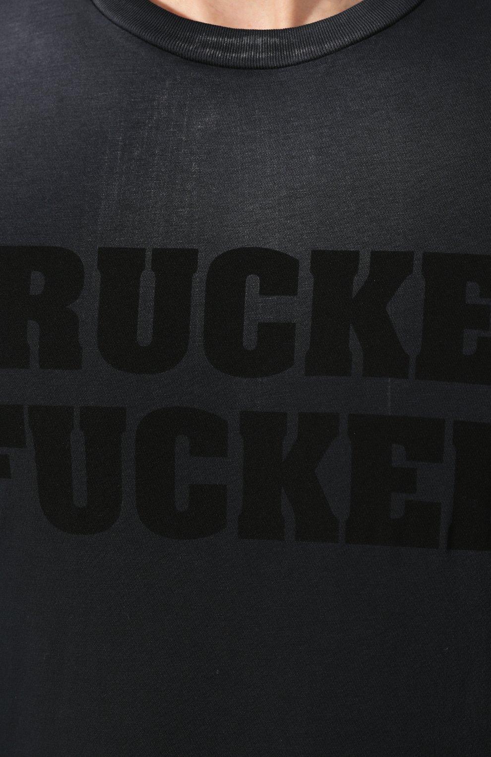 Мужская хлопковая футболка DSQUARED2 черного цвета, арт. S74GD0641/S21600   Фото 5