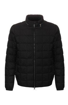 Мужская пуховая куртка trieux MONCLER черного цвета, арт. F1-091-1A524-00-C0506 | Фото 1