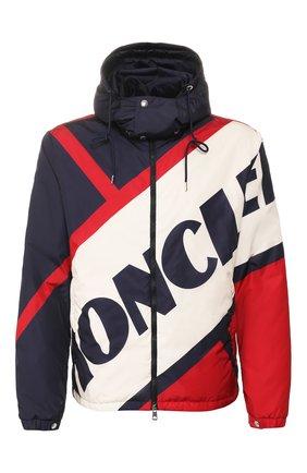Мужская пуховая куртка bert MONCLER разноцветного цвета, арт. F1-091-1A515-00-539TP | Фото 1
