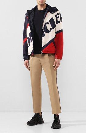 Мужская пуховая куртка bert MONCLER разноцветного цвета, арт. F1-091-1A515-00-539TP | Фото 2