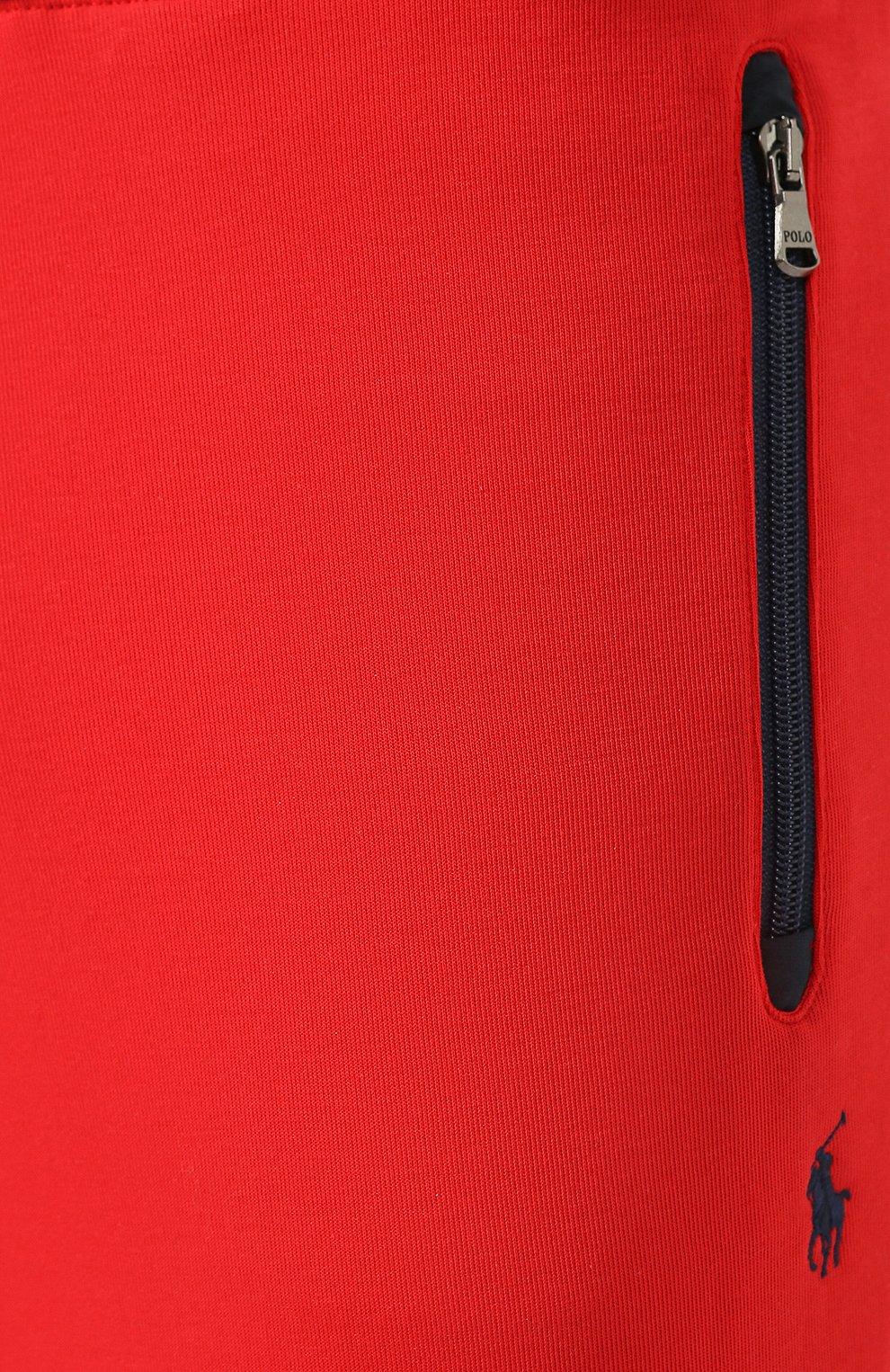 Мужские джоггеры POLO RALPH LAUREN красного цвета, арт. 710792893   Фото 5