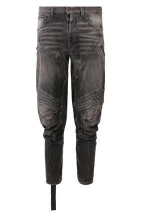Мужские джинсы BEN TAVERNITI UNRAVEL PROJECT темно-серого цвета, арт. UMYA018S20DEN0021000 | Фото 1