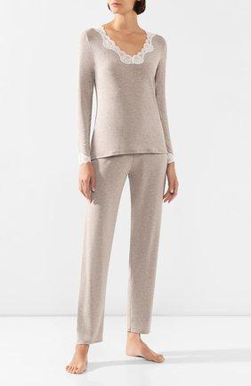 Женская пижама ANTIGEL бежевого цвета, арт. ENA2006-ENA0806   Фото 1