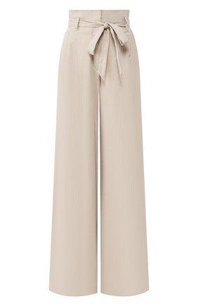 Женские брюки TEREKHOV GIRL бежевого цвета, арт. 2P026/3788.ST102/S20 | Фото 1