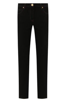 Женские джинсы VERSACE черного цвета, арт. A85443/A232772 | Фото 1