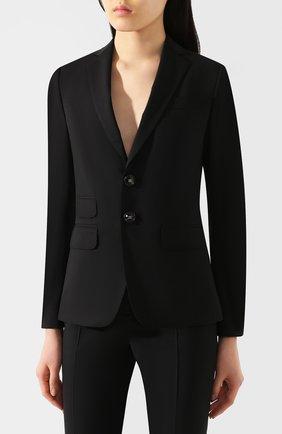 Женский шерстяной костюм DSQUARED2 черного цвета, арт. S75FT0201/S40320 | Фото 2