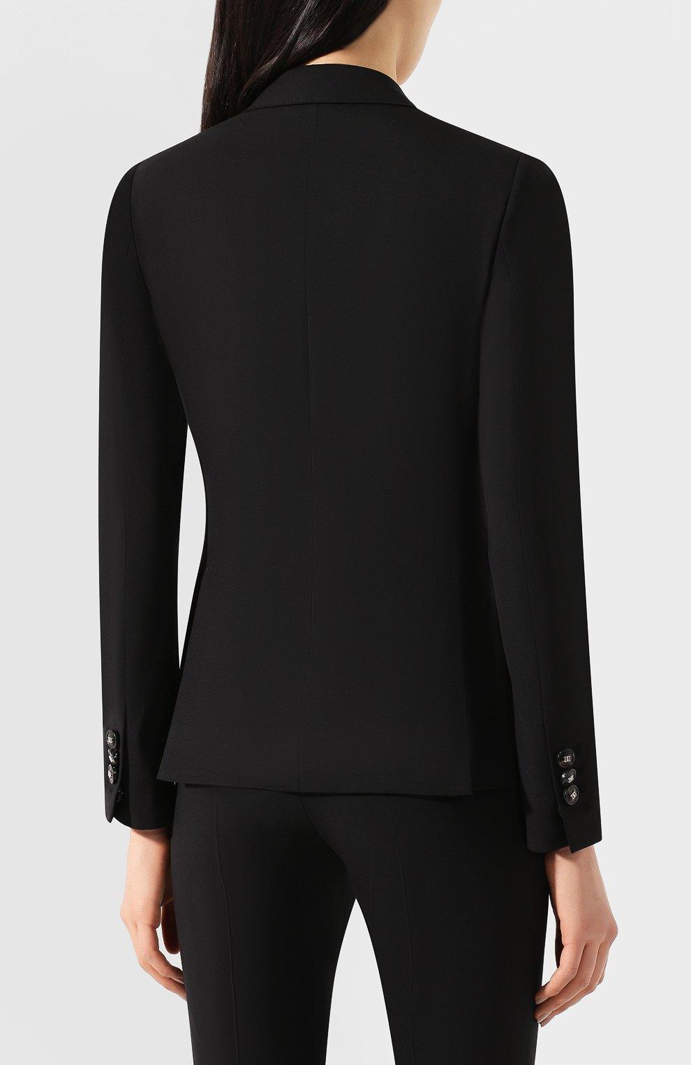 Женский шерстяной костюм DSQUARED2 черного цвета, арт. S75FT0201/S40320 | Фото 3