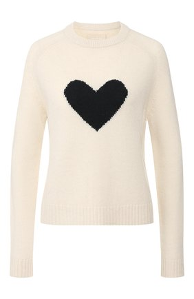 Женская кашемировый свитер ZADIG&VOLTAIRE белого цвета, арт. SJMF1102F | Фото 1
