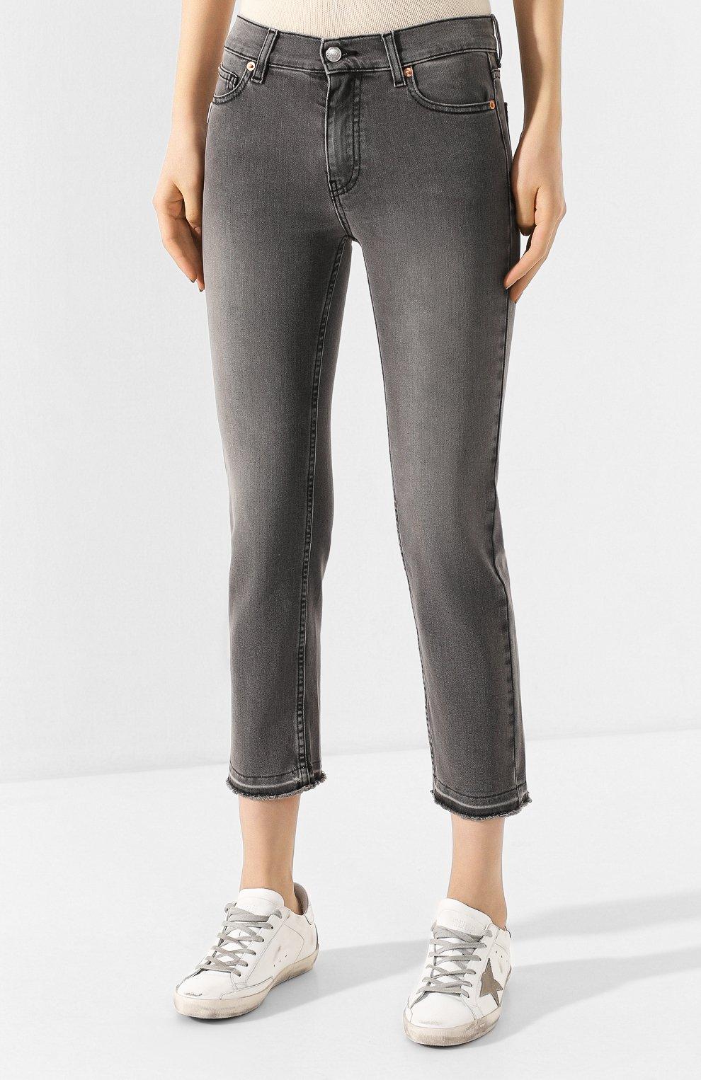 Женские джинсы ZADIG&VOLTAIRE серого цвета, арт. SJCA3005F | Фото 3