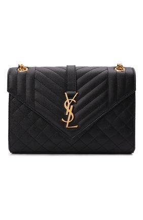 Женская сумка classic monogram medium SAINT LAURENT черного цвета, арт. 600185/B0W91 | Фото 1