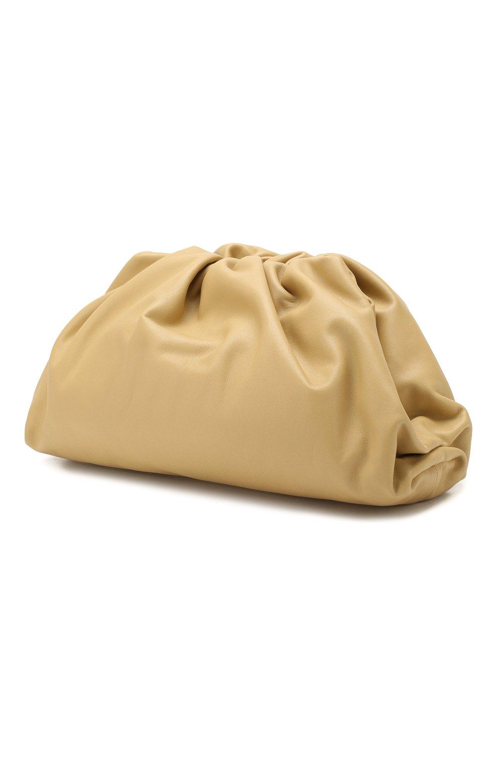Женский клатч pouch BOTTEGA VENETA желтого цвета, арт. 576227/VCP40 | Фото 3