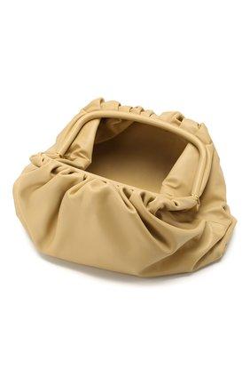 Женский клатч pouch BOTTEGA VENETA желтого цвета, арт. 576227/VCP40 | Фото 4