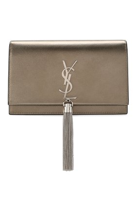 Женская сумка monogram kate SAINT LAURENT серебряного цвета, арт. 452159/03X2N | Фото 1