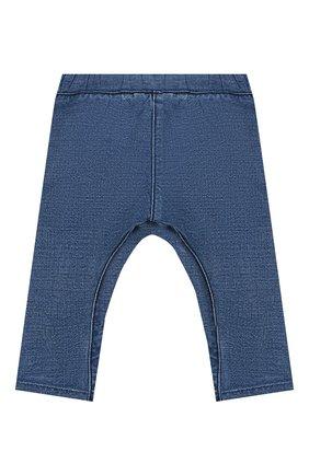 Детские джинсы BURBERRY темно-синего цвета, арт. 8014025 | Фото 2