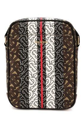 Мужская сумка BURBERRY коричневого цвета, арт. 8023573 | Фото 1
