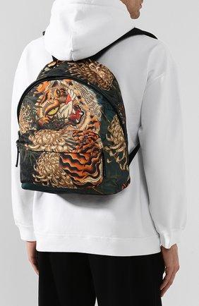 Мужской текстильный рюкзак DSQUARED2 разноцветного цвета, арт. BPM0016 11702860 | Фото 2