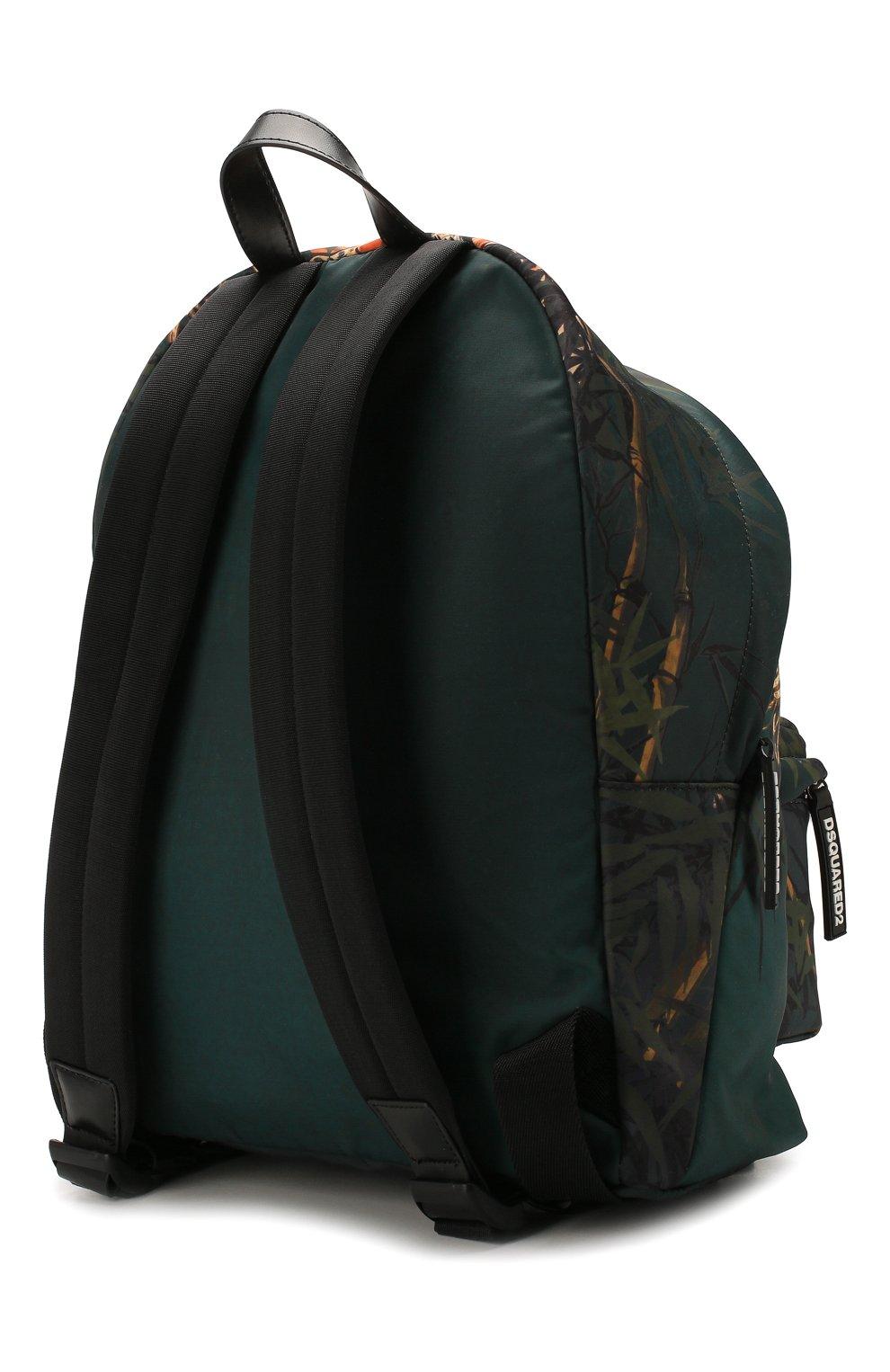 Мужской текстильный рюкзак DSQUARED2 разноцветного цвета, арт. BPM0016 11702860 | Фото 3