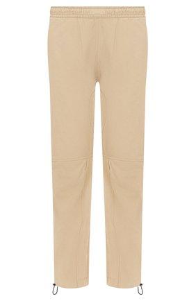 Мужской брюки из смеси хлопка и вискозы BOTTEGA VENETA бежевого цвета, арт. 608707/VA5Y0 | Фото 1