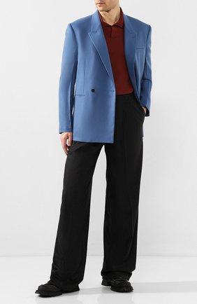 Мужской кашемировые брюки BOTTEGA VENETA темно-серого цвета, арт. 604481/VKH90 | Фото 2