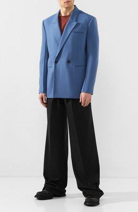 Мужской кашемировый пиджак BOTTEGA VENETA голубого цвета, арт. 600703/VKH90 | Фото 2