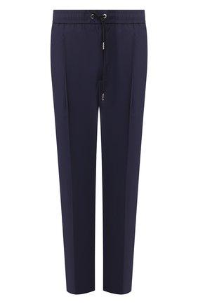 Мужской хлопковые брюки MONCLER темно-синего цвета, арт. F1-091-2A710-00-549P5   Фото 1