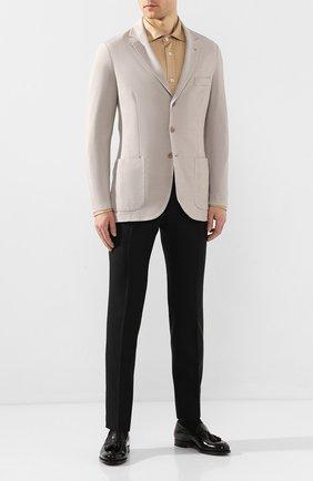Мужская рубашка TOM FORD светло-коричневого цвета, арт. BU248/TFJ941 | Фото 2